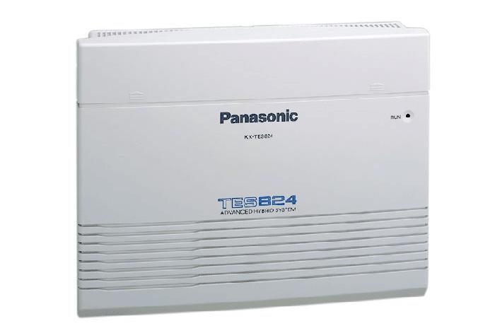Tổng đài Panasonic KX-TES824 3 vào 8 máy lẻ