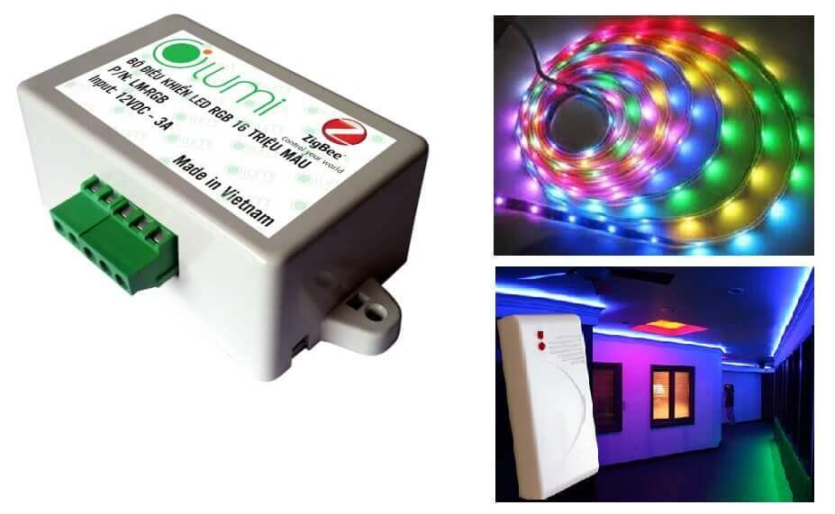 Bộ điều khiển đèn led 16 triệu màu Lumi LM-LED