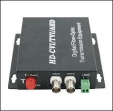 Bộ chuyển đổi Quang HDTEC Video Converter 2 Port BNC + RS485 Data