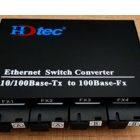 Converter Kết hợp HDTEC 4 cổng Quang + 4 cổng RJ45 100Mbps